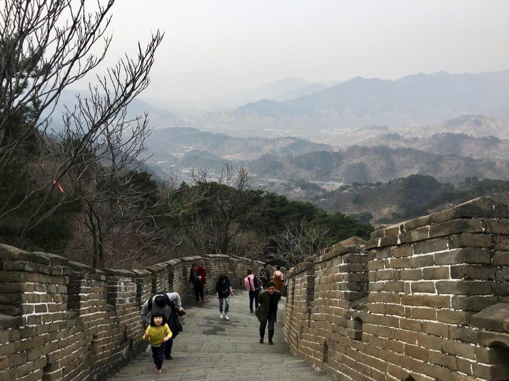Top 5 Peking Highlights: Anstieg auf der Großen Mauer