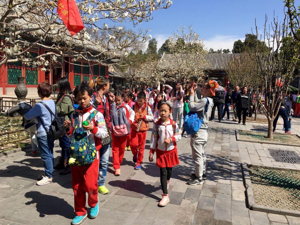 Die top 5 Peking Highlights: Schulklasse im Neuen Sommerpalast