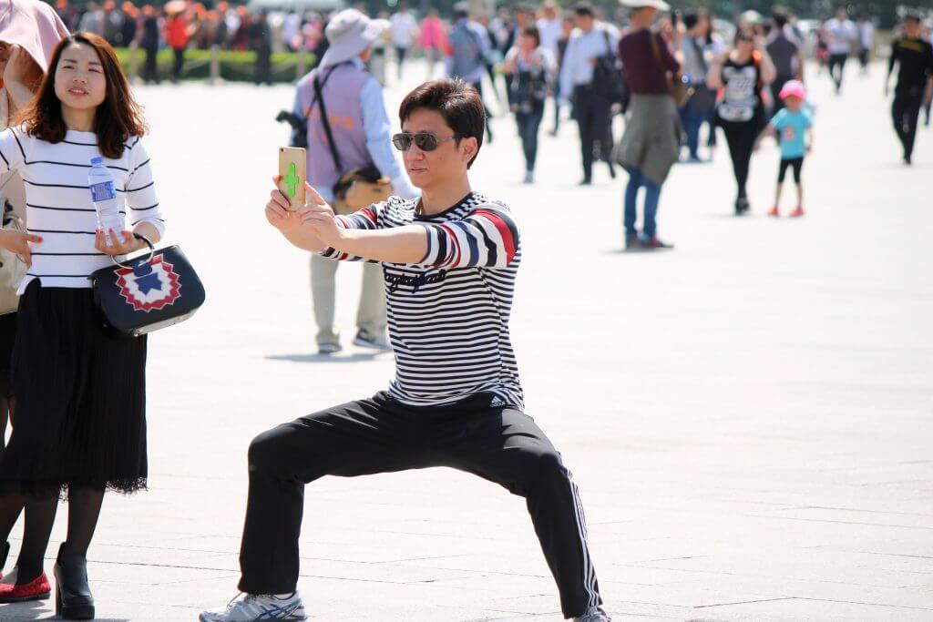 Top 5 Peking Highlights: Selfie auf dem Tian'anmen-Platz