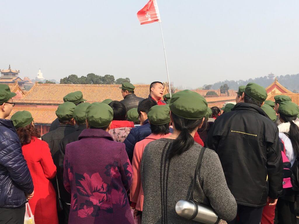 Die top 5 Peking Highlights: Reisegruppe in der Verbotenen Stadt