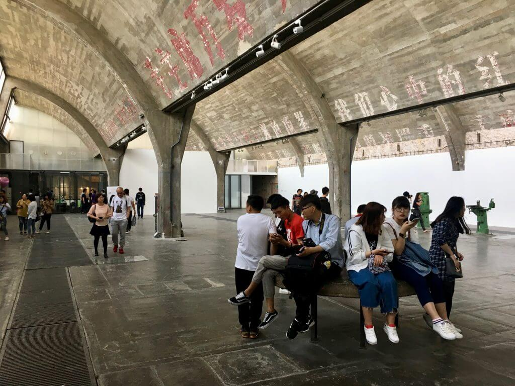 Peking Sightseeing Tipps: Ausstellung im 798 Art District