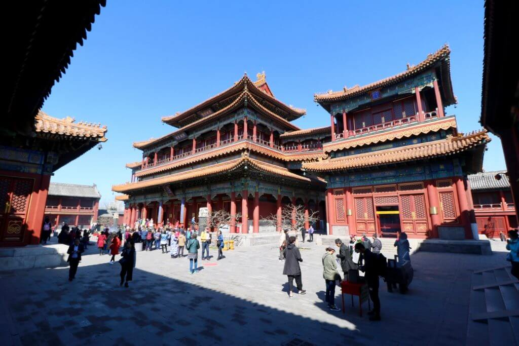 Peking Sightseeing Tipps: Lamatempel
