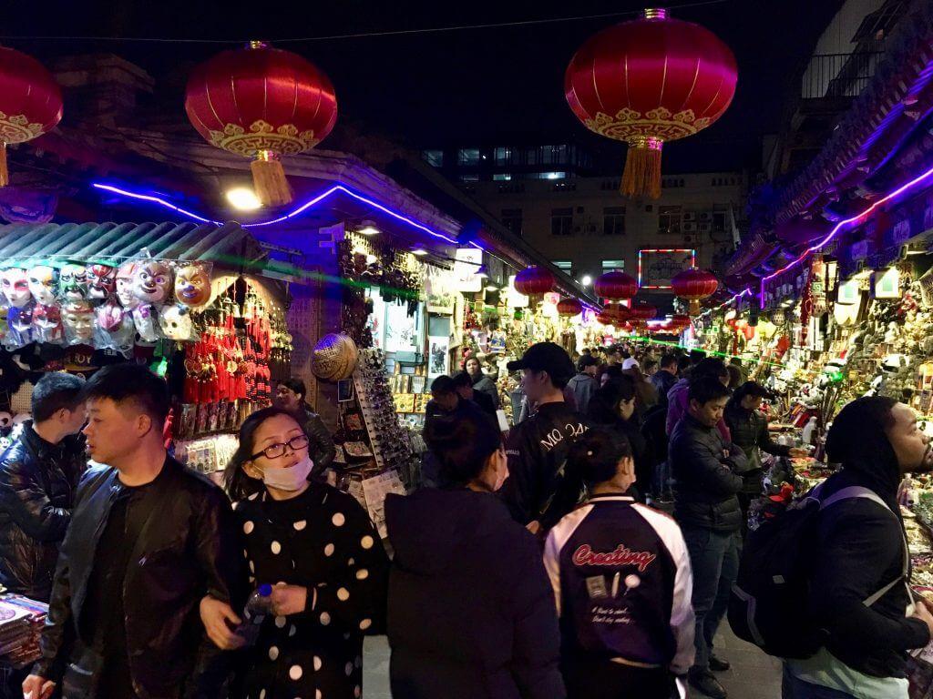 Peking Sightseeing Tipps: Nachtmarkt Peking