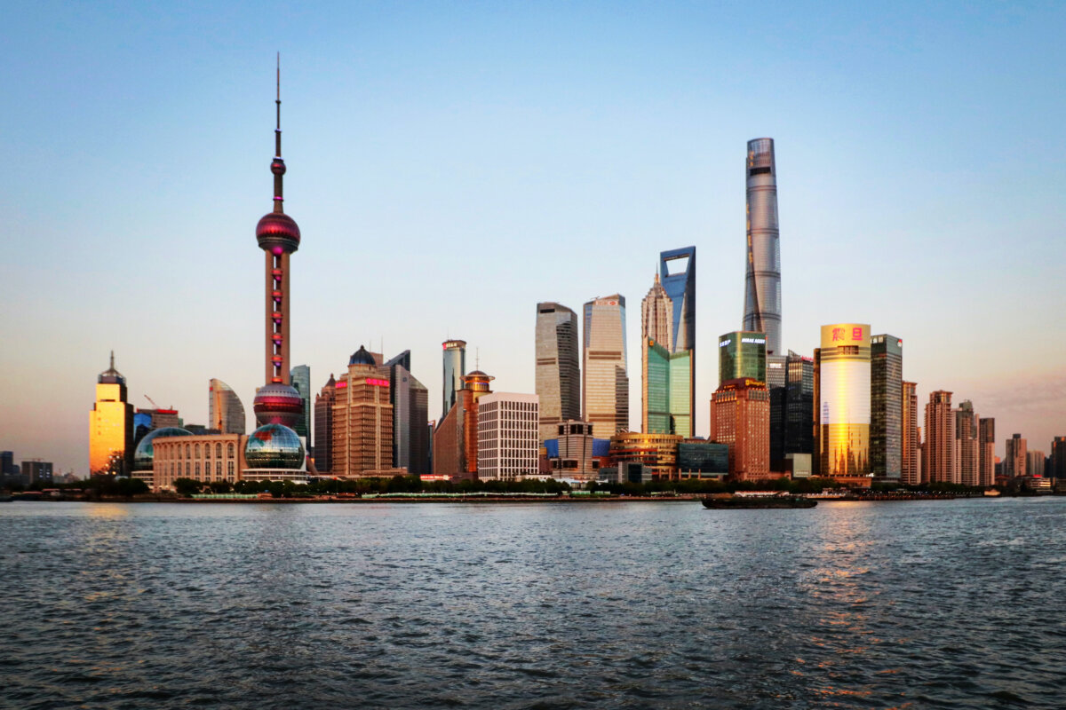 Sightseeing Tipps Shanghai: Blick auf Pudong