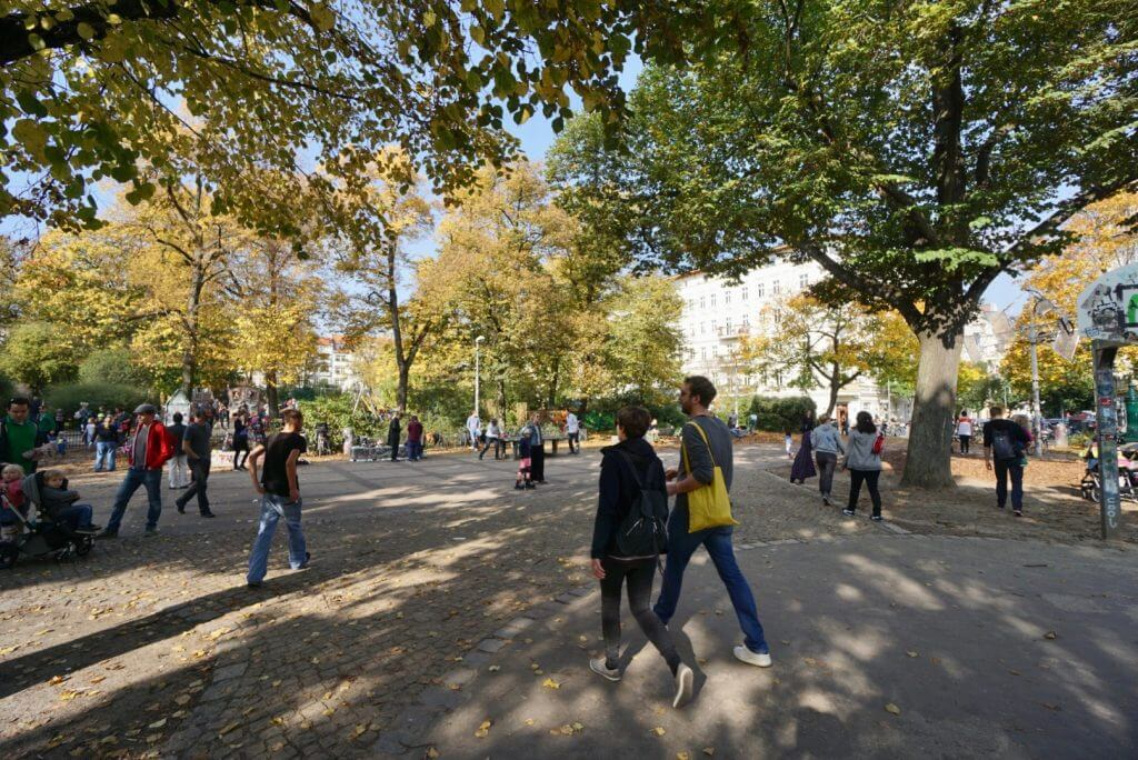 Sightseeing Tipps Berlin-Prenzlauer Berg: Helmholtzplatz