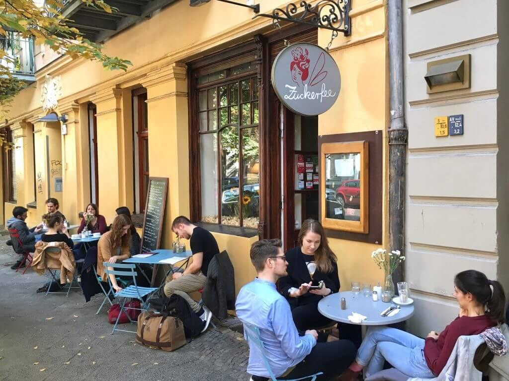 Sightseeing Tipps Berlin-Prenzlauer Berg: Terrasse Zuckerfee