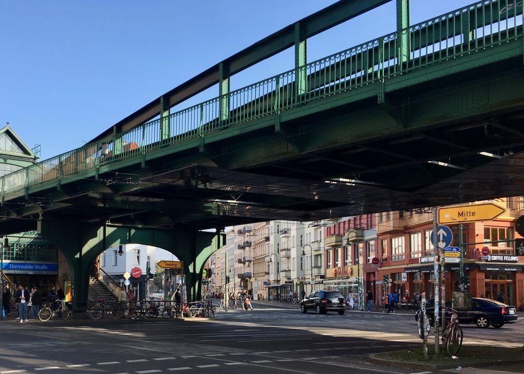 Sightseeing Tipps Berlin-Prenzlauer Berg: U-Bahnhof Eberswalder Staße