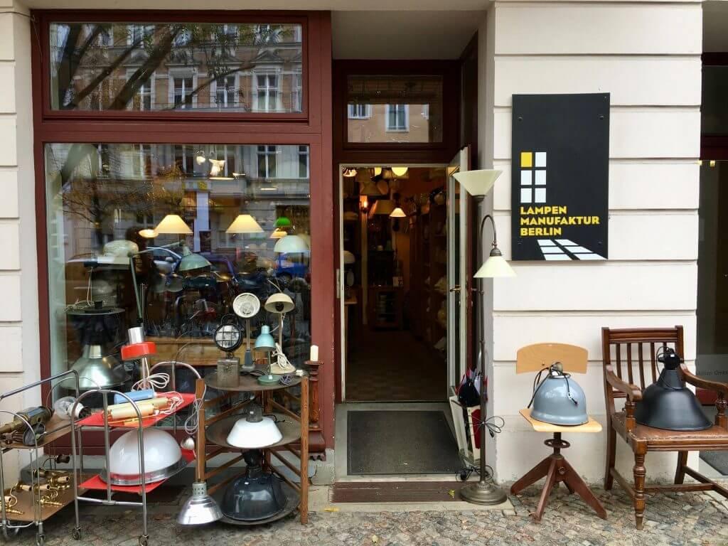 Sightseeing Tipps Prenzlauer Berg: Lampenladen in der Rykestraße