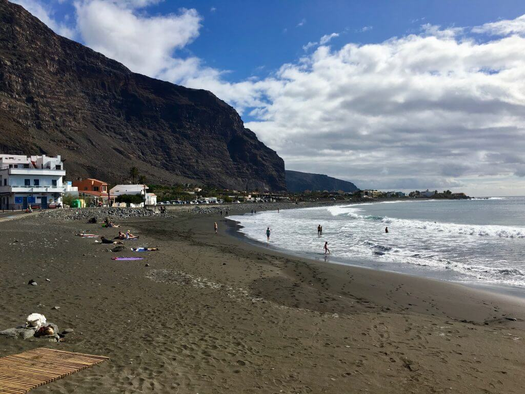 Eine Woche La Gomera: Playa Valle Gran Rey