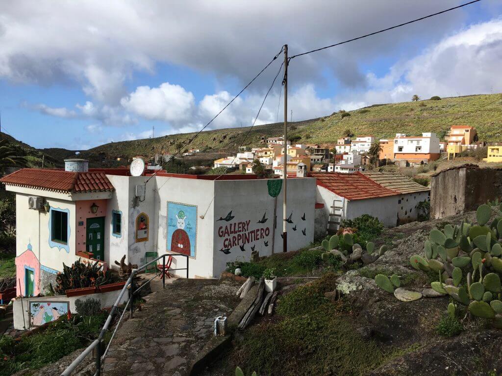 Eine Woche La Gomera: Auf dem Weg zum zum Raso de la Bruma
