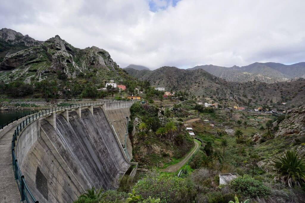 Eine Woche La Gomera: Stausee Embalse de la Encantado