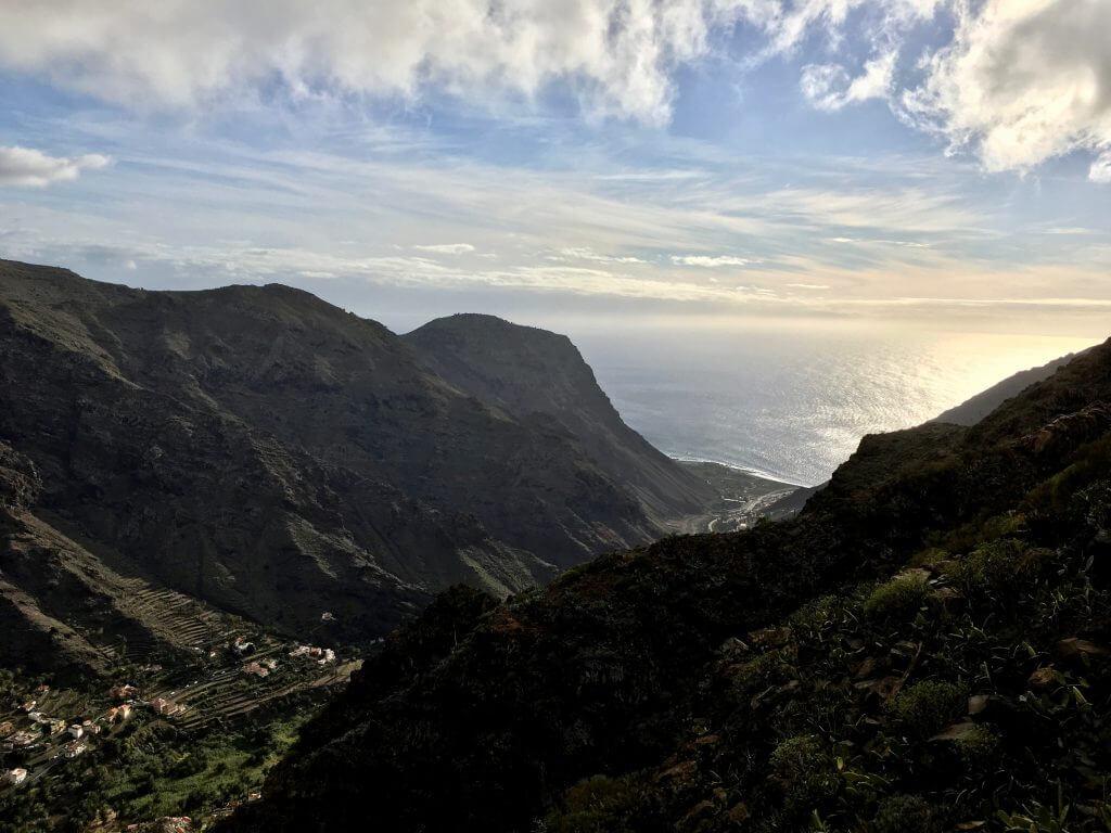 Eine Woche La Gomera: Blick auf Valle Gran Rey