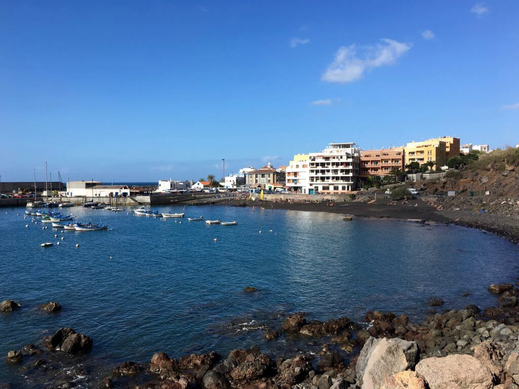 Eine Woche La Gomera: Strand von Vueltas