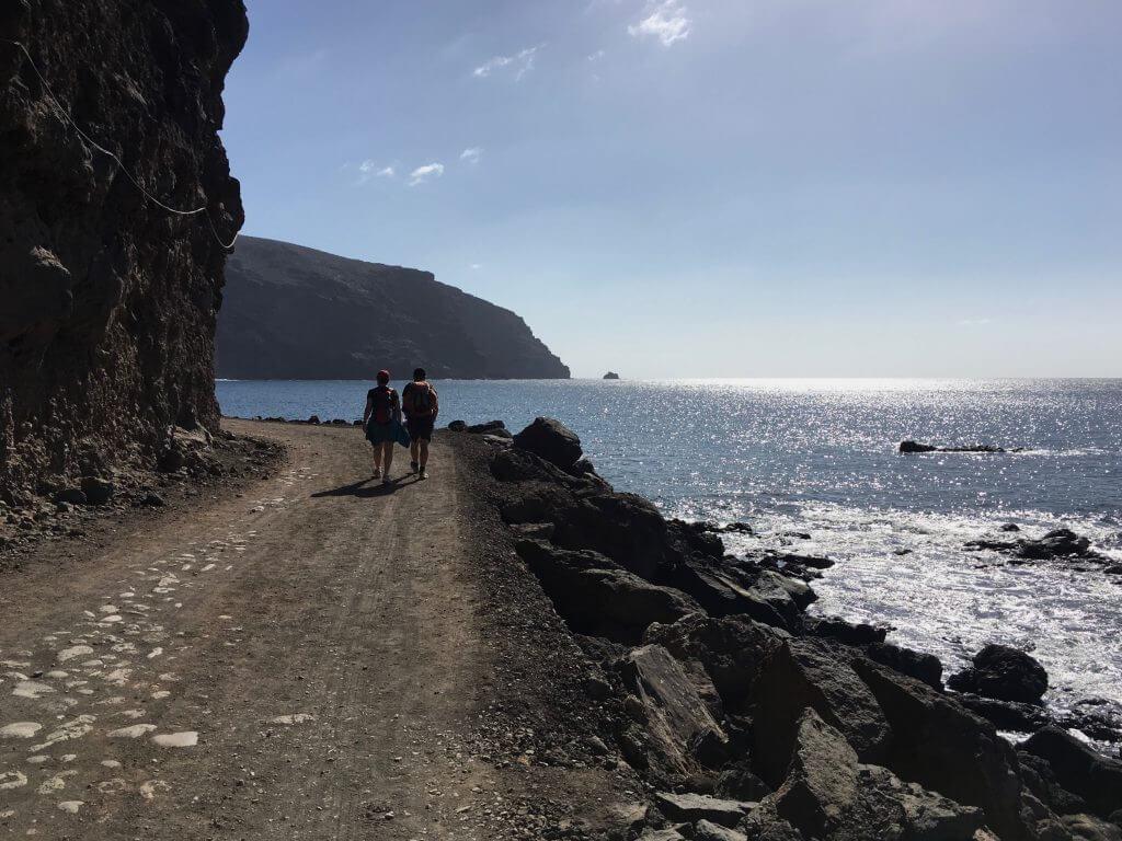Eine Woche La Gomera: Weg zum Fruchtgarten Argaga
