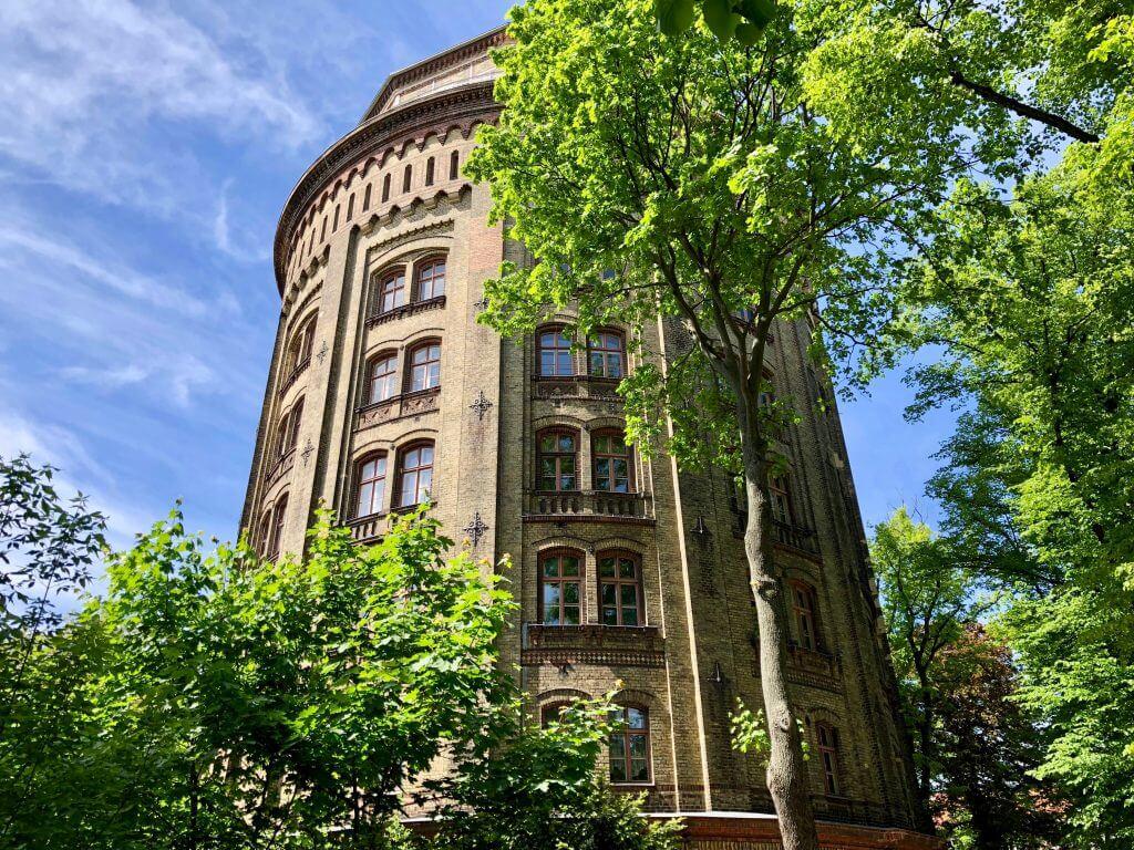 Sightseeing Tipps Berlin-Prenzlauer Berg: Wasserturm im Kollwitzkiez