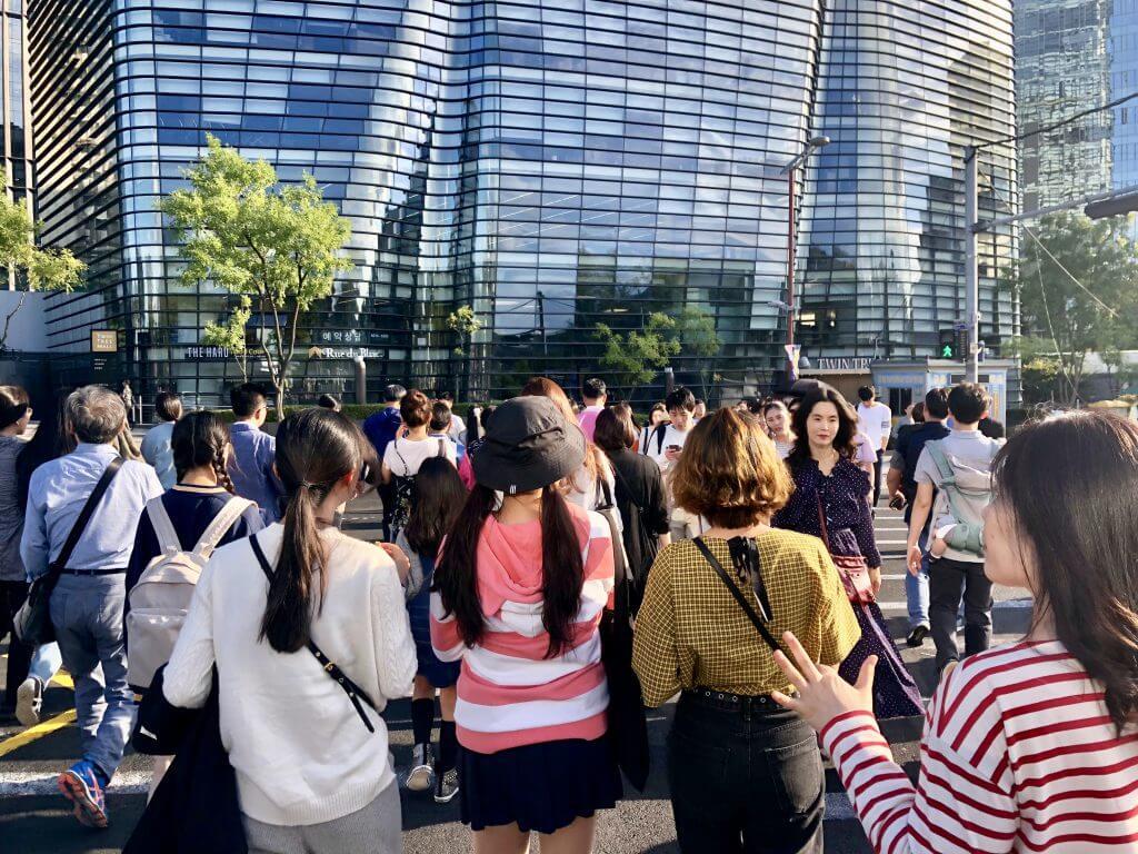 Fakten über Südkorea: Rush Hour in Seoul