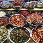 Fakten über Südkorea: Gemüse auf Food-Market