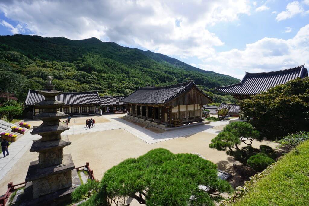 Hwaeomsa Tempel in Südkorea