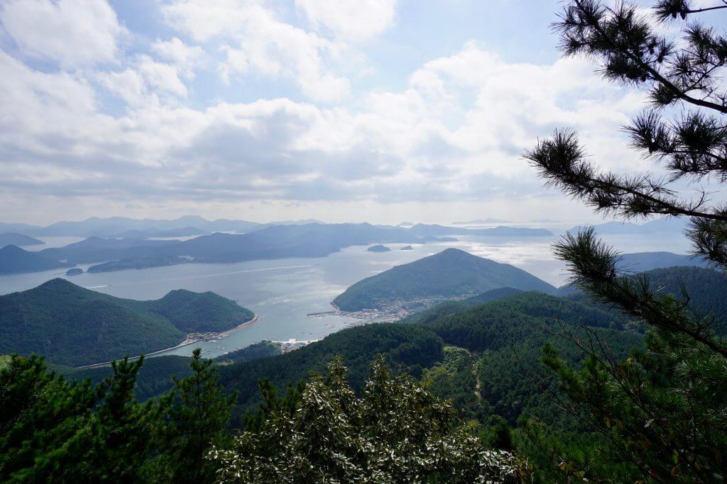 Tongyeong - Blick vom Mireuksan