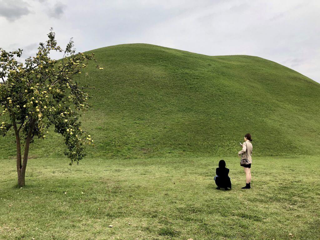 Gyeongju: Alte Gräber