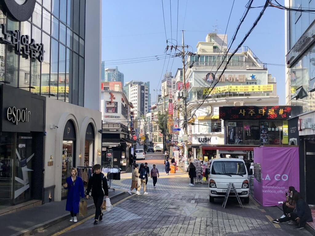 Seoul (Korea): Hongdae Shopping Street