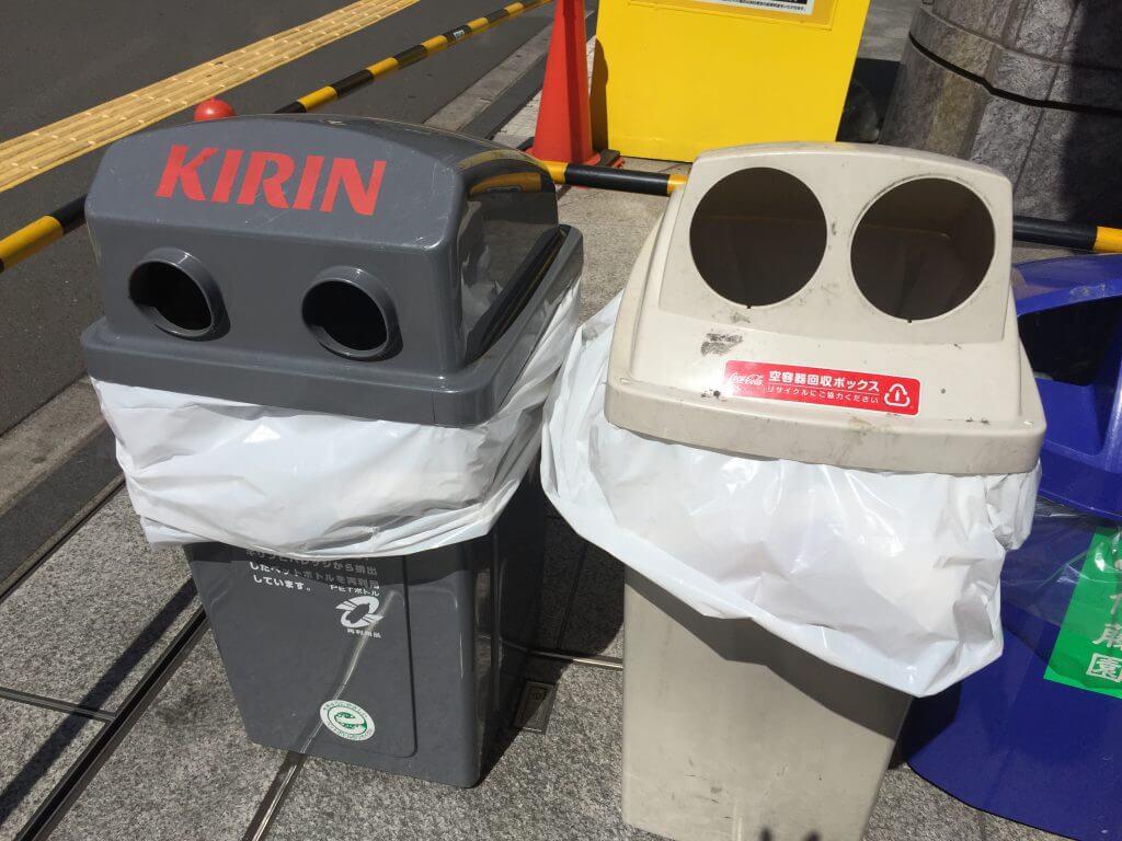 5 Dinge, die ich an Japan cool finde: Mülltonnen