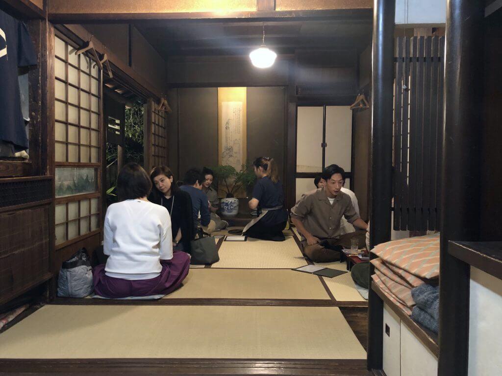 Traditionelles japanisches Restaurant