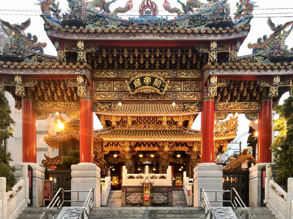 Tempel in China Town