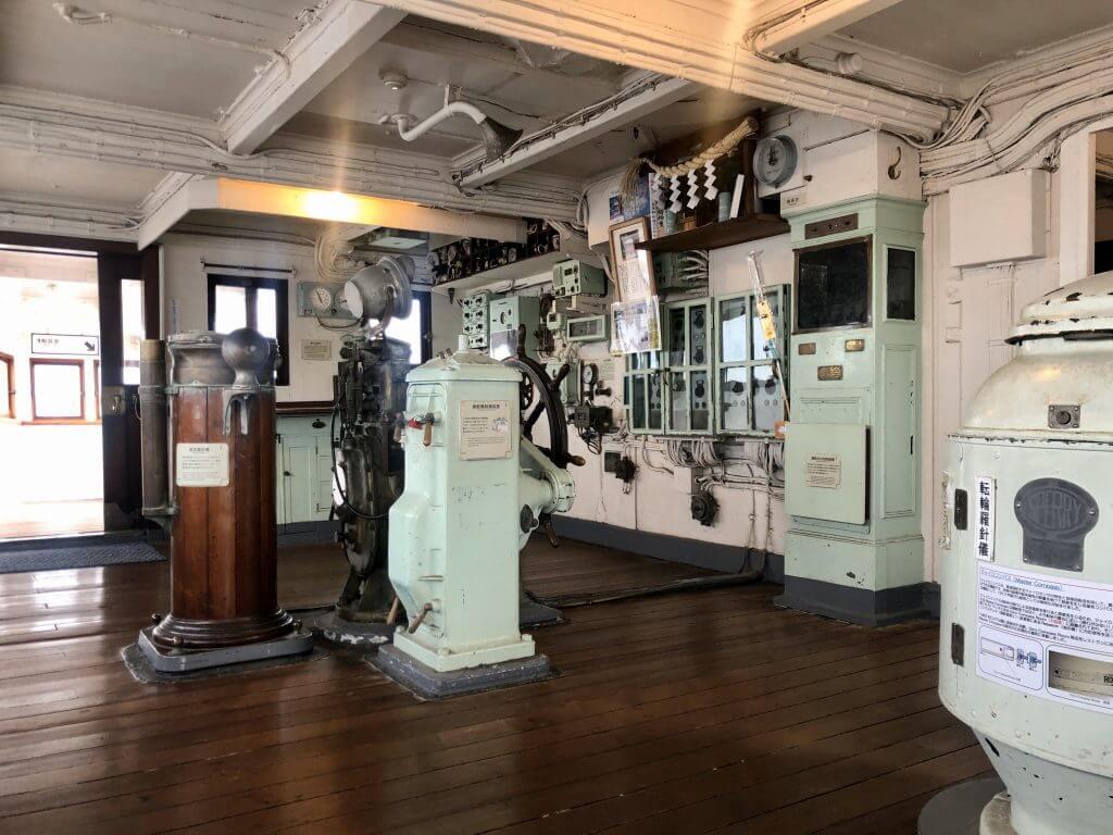 Hikawa Maru Schiff von innen