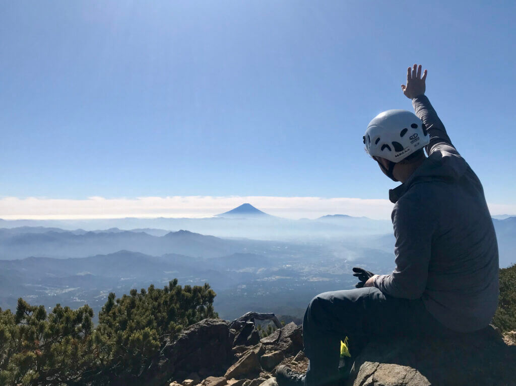 Blick auf den Mt. Fuji